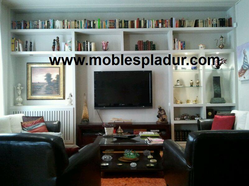 Pladur barcelona muebles cl sicos - Muebles de pladur para salon ...