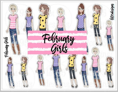 Lot95Designs February Girls
