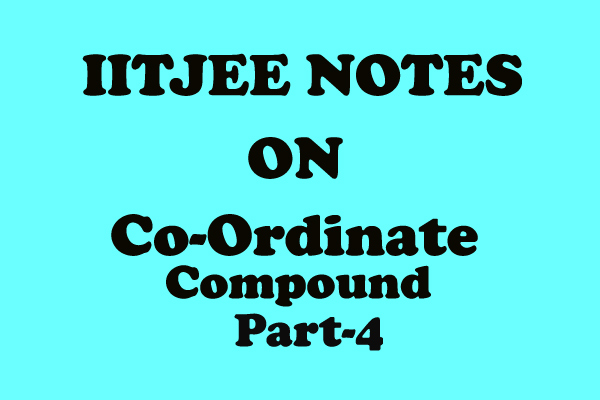 coordinate compound hand written notes