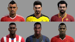 Facepack Internacional V1 Pes 2013 By Piero