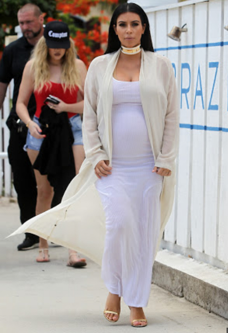 7df5646748d ... Kim Kardashian also does a mighty fine job of creating buzz about her  maternity clothing too. Because really