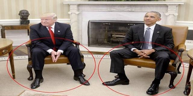 هذا ما كشفته محللة 'لغة الجسد' عن لقاء أوباما وترامب! تحليلات مفاجئة تكشف الكثير مما حاولوا اخفاءه في اللقاء...