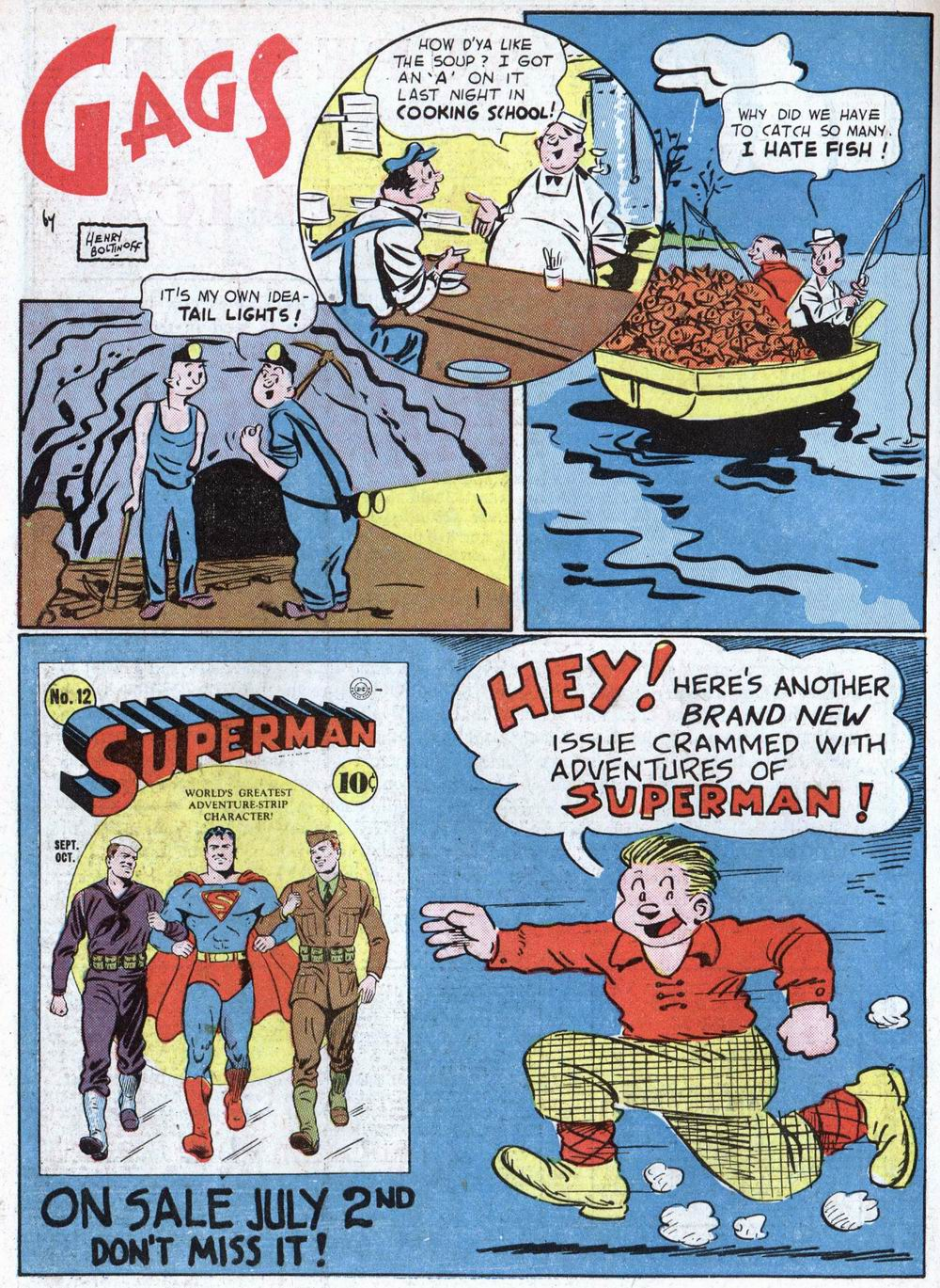 Read online Action Comics (1938) comic -  Issue #39 - 16
