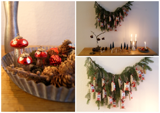 Upcycling Adventskalender Klopapierrollen