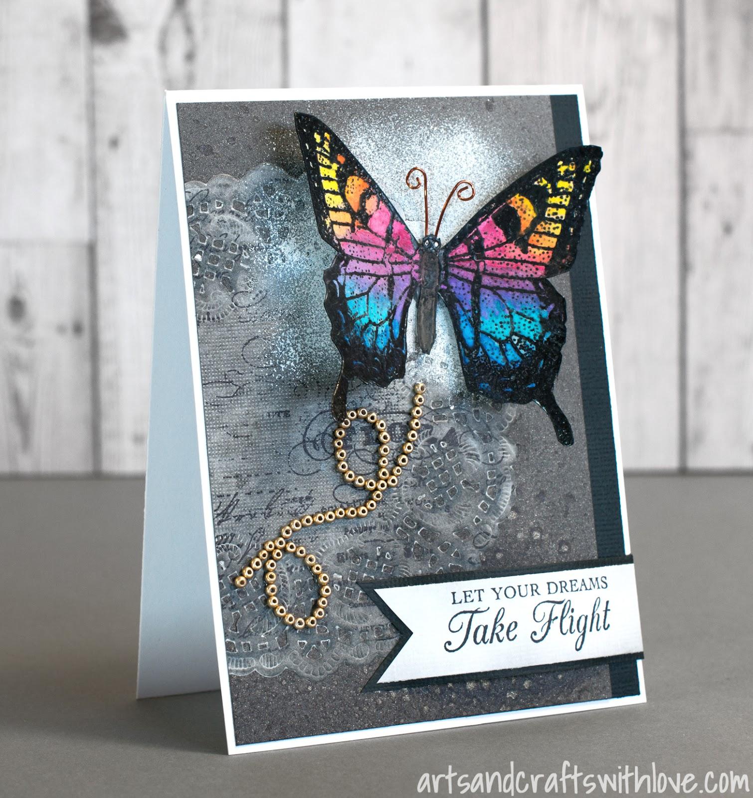 Cardmaking: Let Your Dreams Take Flight