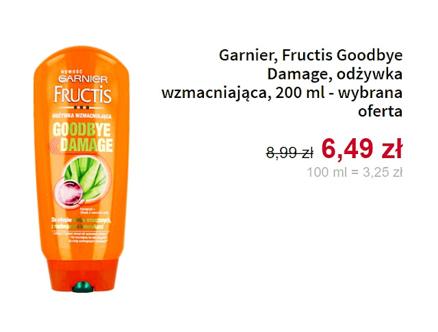 Garnier, odżywka wzmacniająca