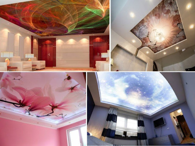 marvelous stretch ceiling design ideas