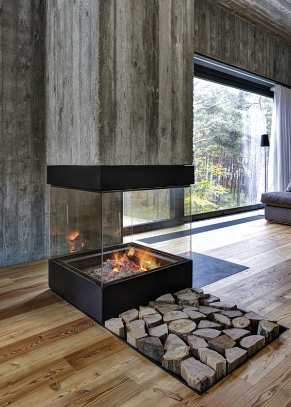 8 Original Fireplaces You Want To Have At Home 3