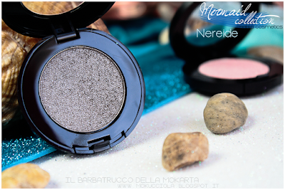 NEREIDE -  Eyeshedow ombretti Swatches, Comparazione  - MERMAID COLLECTION - NABLA COSMETICS