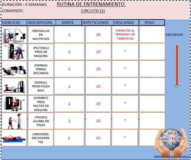 ejercicios para todo el cuerpo pdf