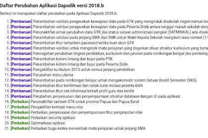 Beberapa Hal Penting Terkait Dapodik 2018.b