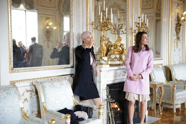 Beatrice Borromeo,Charlotte Casiraghi, Princess Alexandra, Princess Caroline, Princess Charlene, Princess Gabriella, Prince Jacques, Princess Stephanie