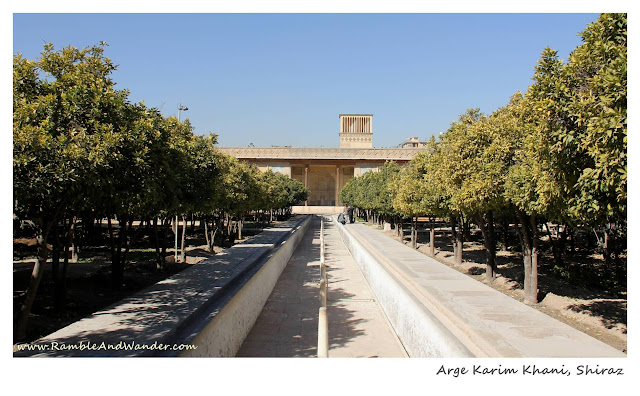 Iran: The Citadel of Arge Karim Khani, Shiraz - Ramble and Wander