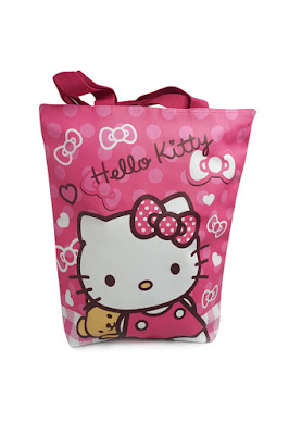 Totebag Karakter Kartun Anak hello kitty
