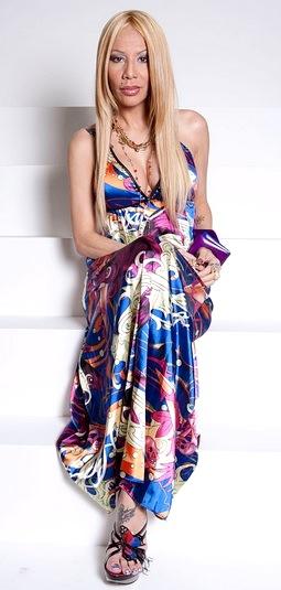 Foto de Ivy Queen con cabello suelto