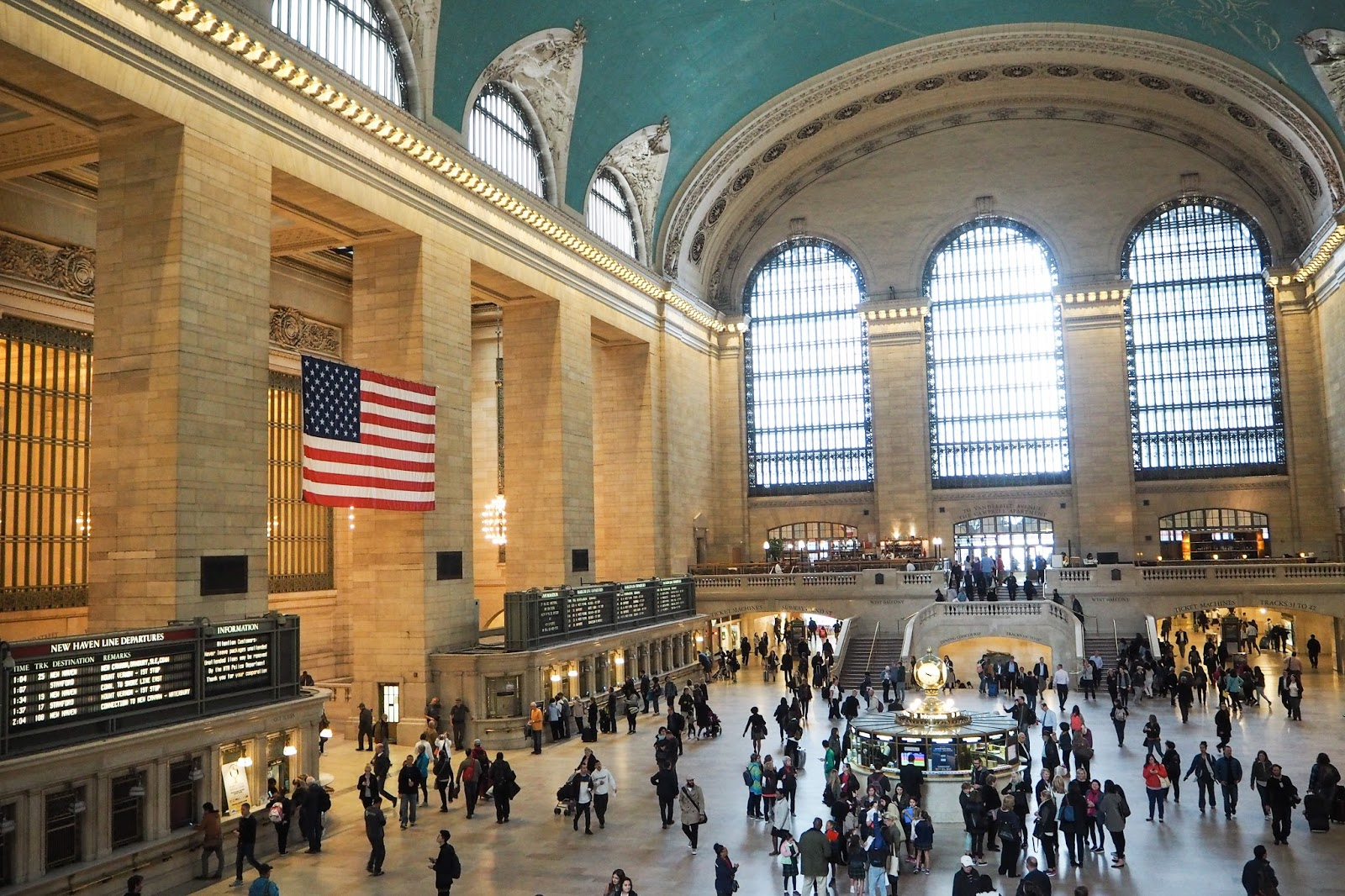 Inside of Grand Central Station