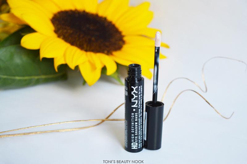 nyx cosmetics hd eyeshadow base