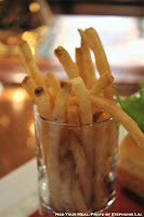French Fries at The Teddy Roosevelt Lounge in DisneySea Japan
