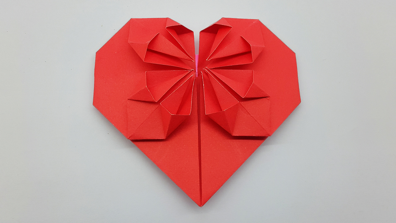 Origami Heart Box Video Instructions - Paper Kawaii | 720x1280