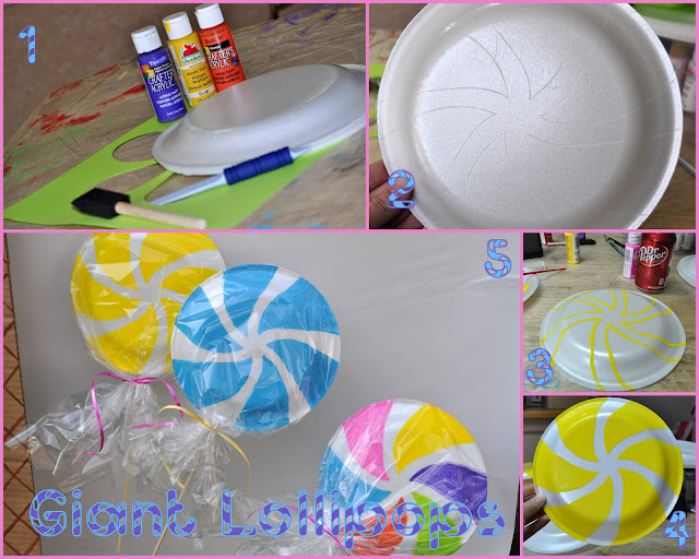 Candyland Party Decorations Diy Amazing Willy W...
