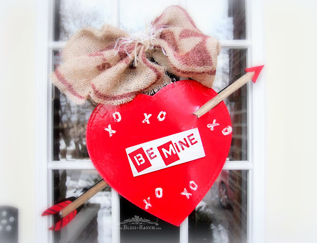 Chocolate Valentines Box Free Door Wreath