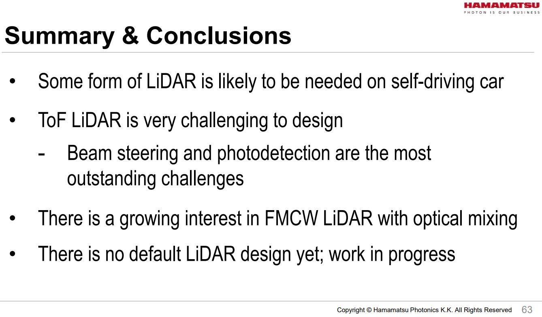 Image Sensors World: Hamamatsu LiDAR Review