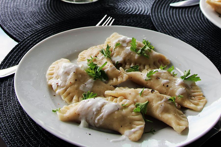 """""""Pamiętniki z wakacji""""    Pierogi z rybą"""