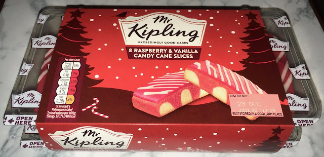 Mr Kipling Candy Cane Slices