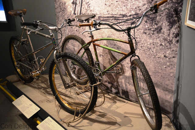 the first mountain bikes