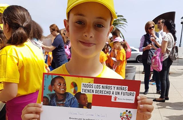 Las escuelas unitarias de Breña Alta y Breña Baja siguen apostando por la solidaridad
