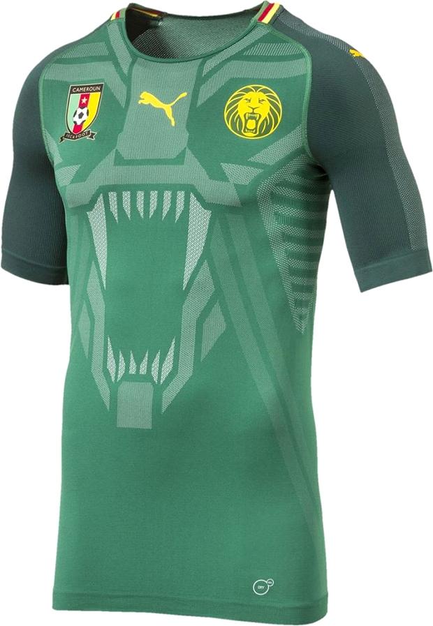 Puma lança a nova camisa titular da seleção de Camarões - Show de ... f827229ed7ed3