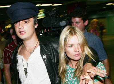 Kate Moss y Peter Doherty