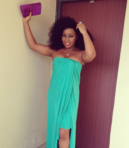 Check out Rita Dominic's outfit to Afriff press party