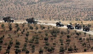 Turkish Forces Set Up Positions in Syria