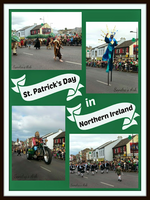 St. Patrick's Day Parade in Downpatrick in Northern Ireland in 2014
