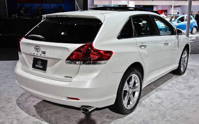 2017 Toyota Venza SUV rear look Hd Wallpapers