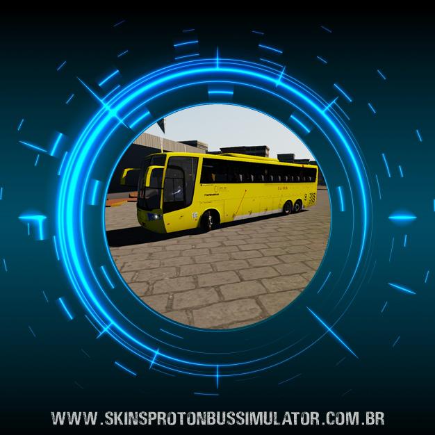 Skin Proton Bus Simulator Road - Vissta Buss HI O-500 RSD Viação Itapemirim