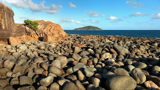 Granite island near Mackay, Central Queensland