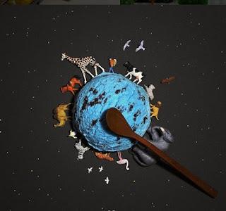 миниатюра земной шар