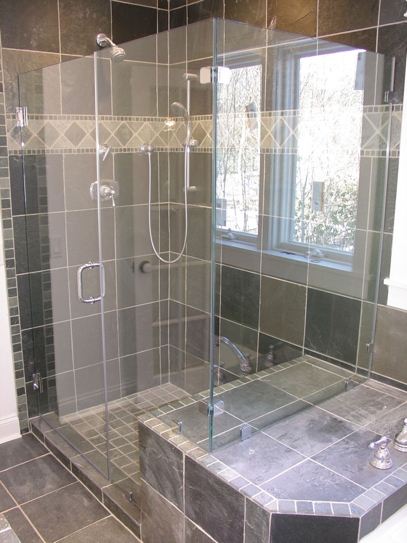 Distinctive Floor And Shower Tile ! Home Decor