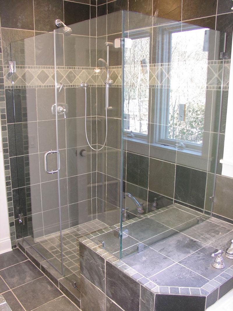 Distinctive Floor And Shower Tile ! Home Decor