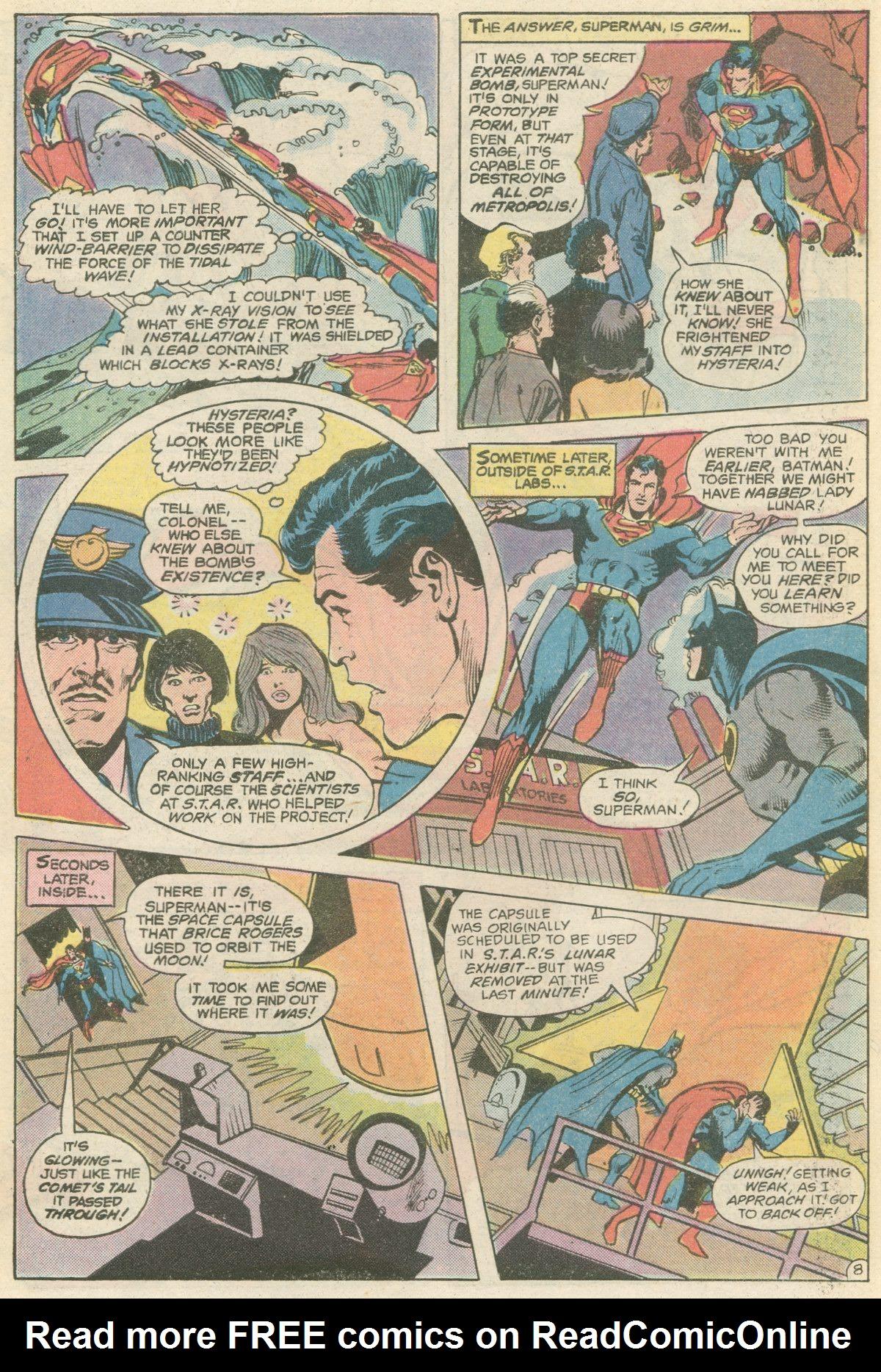 Read online World's Finest Comics comic -  Issue #266 - 10