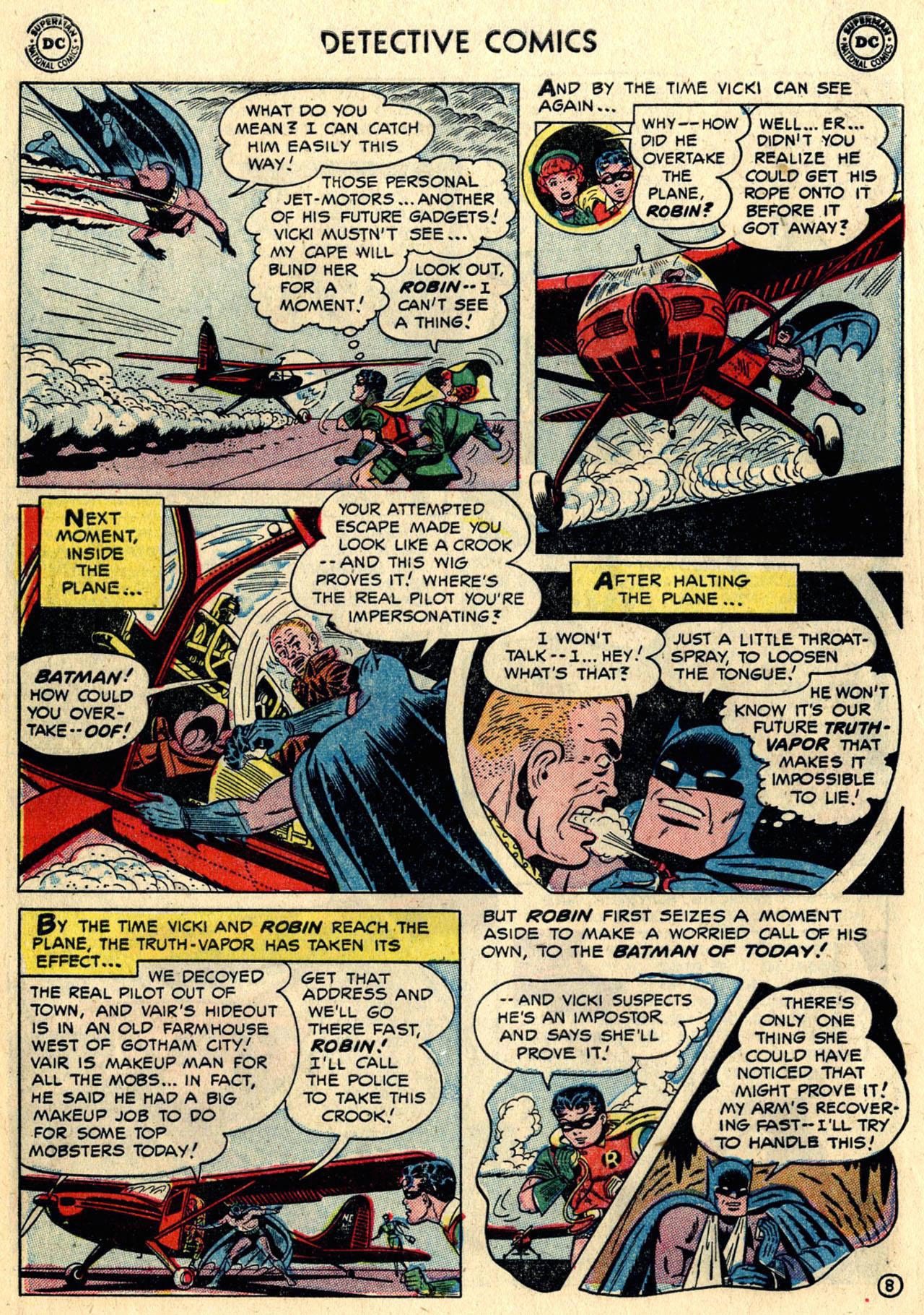 Read online Detective Comics (1937) comic -  Issue #216 - 10