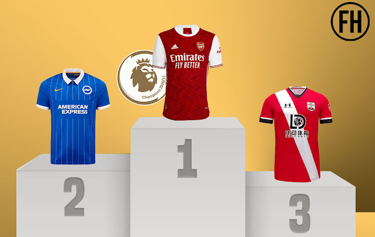 Ranking All 20-21 Premier League Home Kits - Footy Headlines
