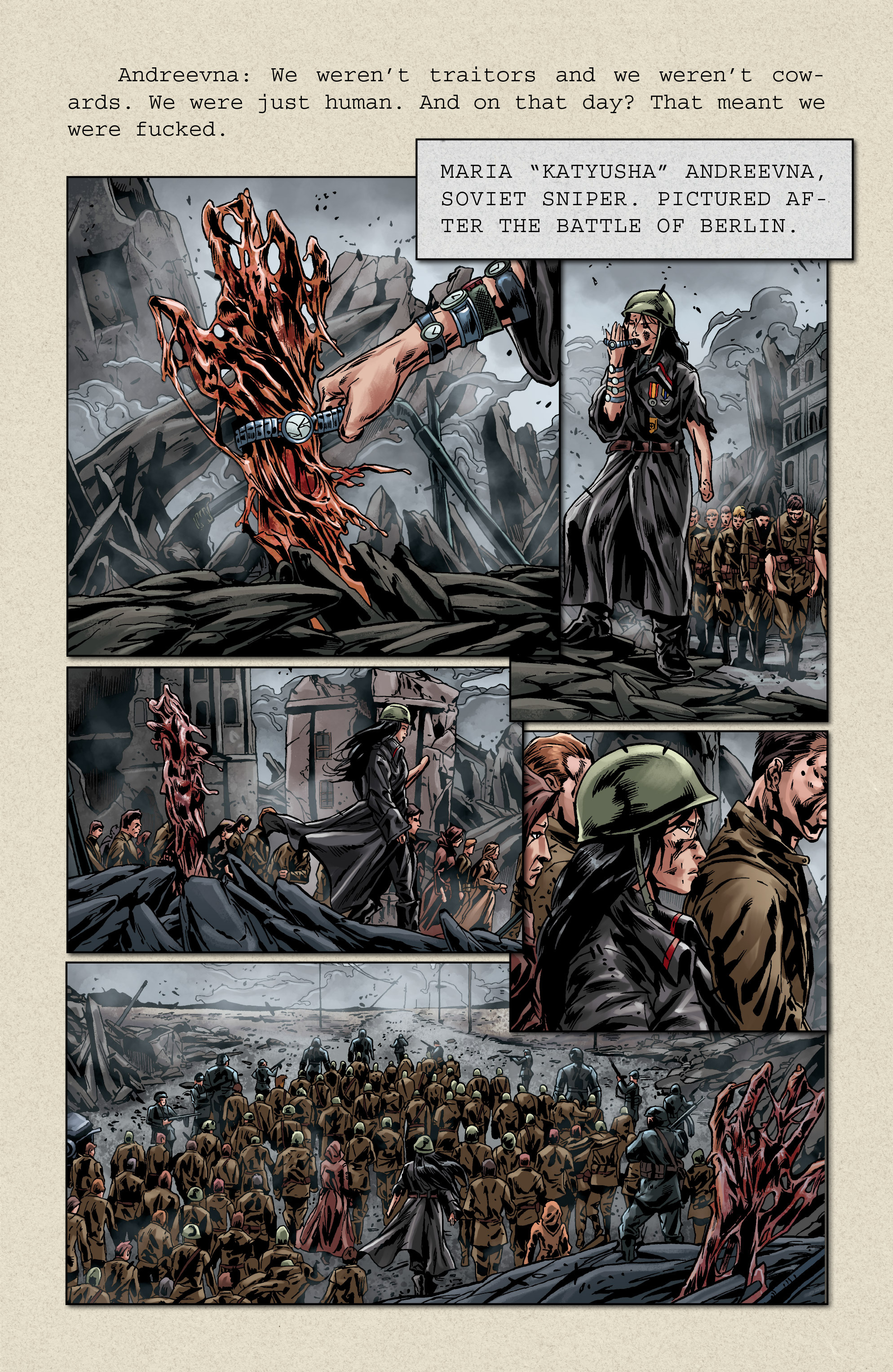 Read online Uber comic -  Issue # _FCBD - The First Cycle - 10