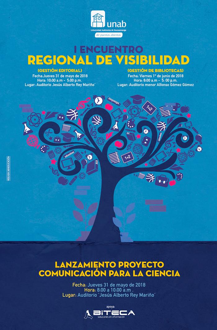 Sobre gestión editorial y bibliotecas se hablará en el Encuentro regional de visibilidad que se realizará en la UNAB