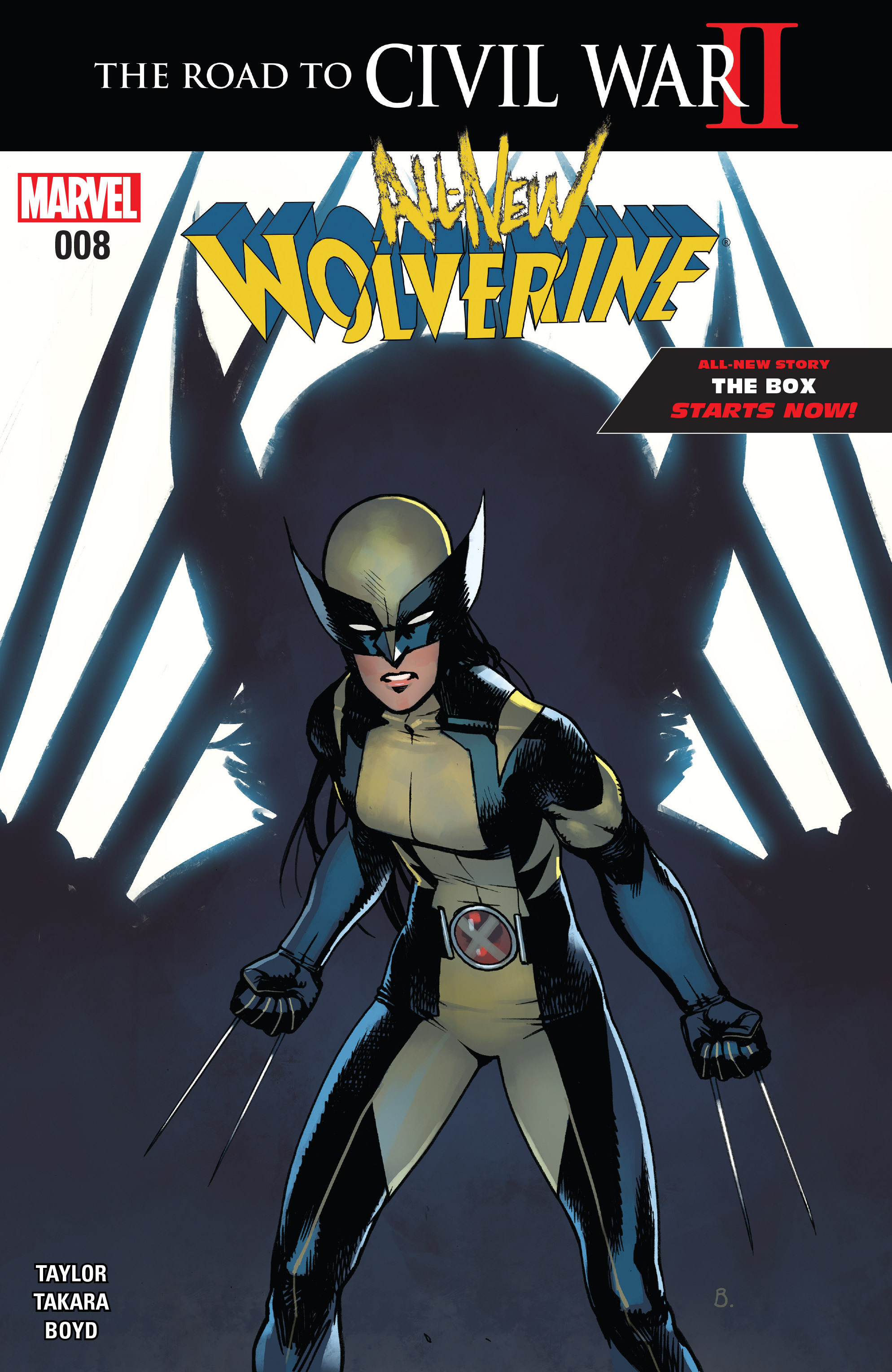All-New Wolverine (2016) 8 Page 1