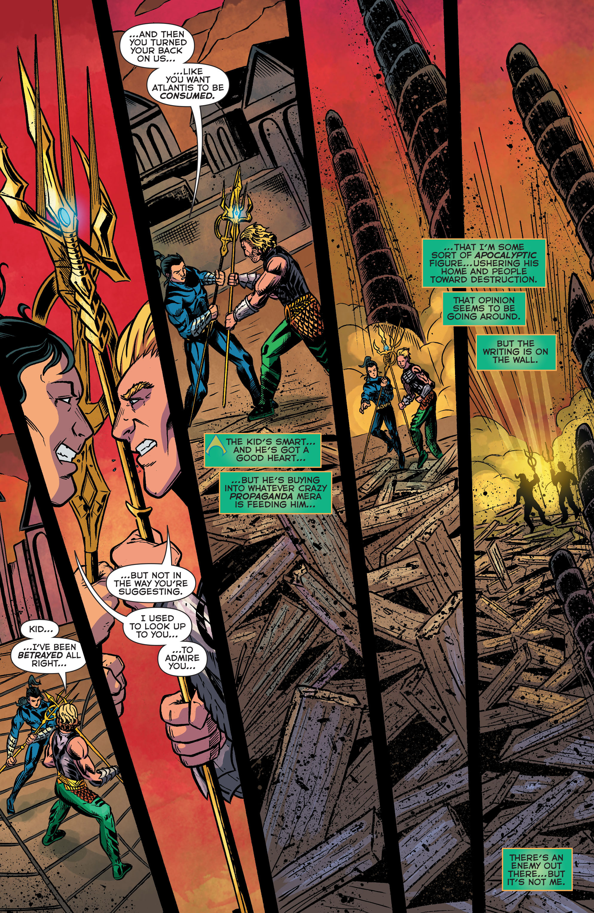 Read online Aquaman (2011) comic -  Issue #42 - 18