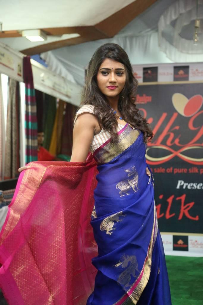 Shalu Chourasiya At Silk India Expo 2017 Photo Gallery