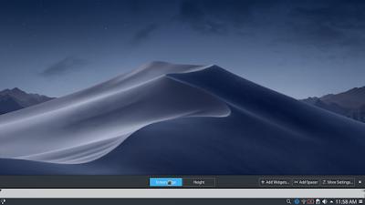 Membuat Tampilan Kali Linux Menjadi Mac OS Mojave - Settings
